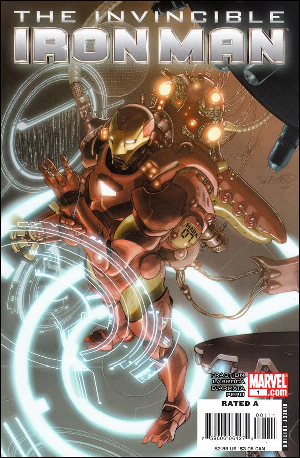 Invincible Iron Man (2008) 1-B by Marvel