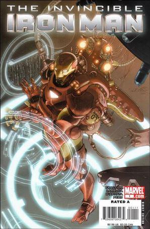 Invincible Iron Man (2008) 1-B