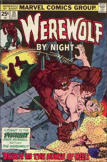 Werewolf by Night (1972) 35-A by Marvel