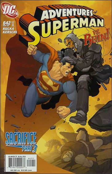 Adventures of Superman (1987) 642-A by DC