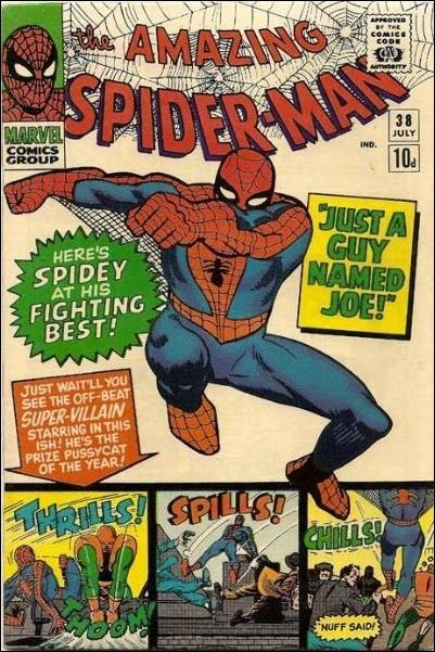 Amazing Spider-Man (1963) 38-B by Marvel