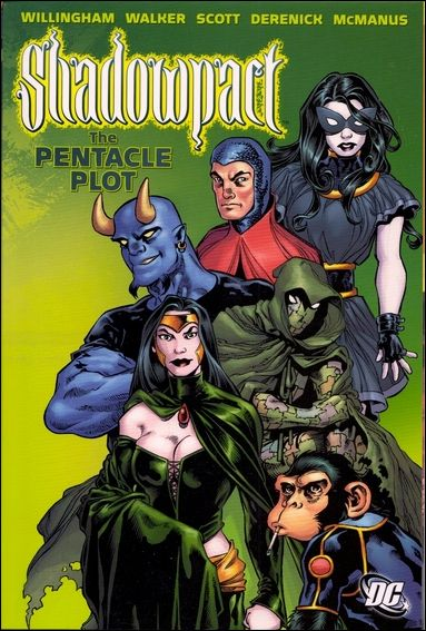 Shadowpact: The Pentacle Plot nn-A by DC