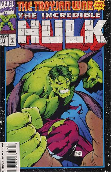 Incredible Hulk (1968) 416-A by Marvel