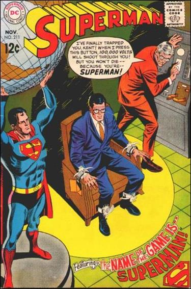 Superman (1939) 211-A by DC
