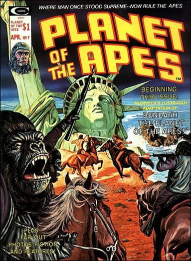 Planet of the Apes (1974) 7-A by Marvel