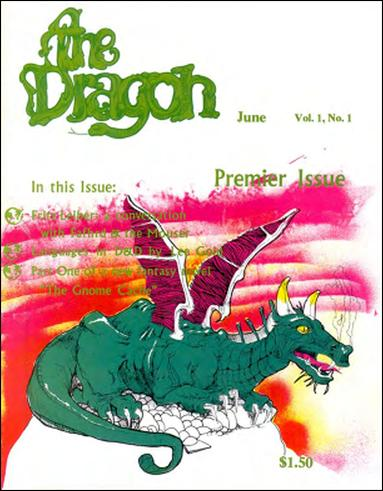 Dragon Magazine 1-A by Wizards of the Coast
