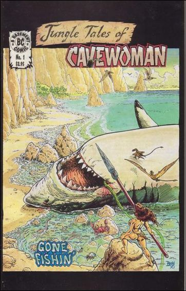 Cavewoman: Jungle Tales 1-A by Basement Studios