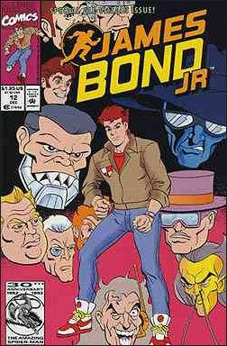 James Bond Jr. - The 007 sequel cartoon series   Steve ...