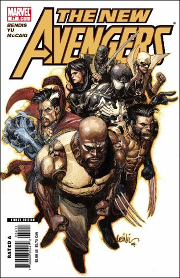 New Avengers (2005) 37-A by Marvel