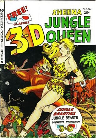 3-D Sheena, Jungle Queen 1-A