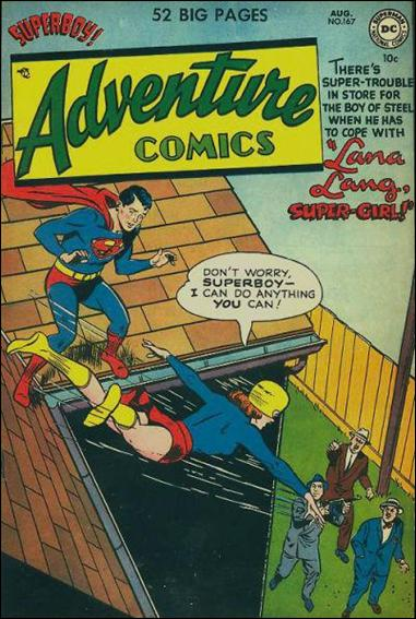 Adventure Comics (1938) 167-A by DC