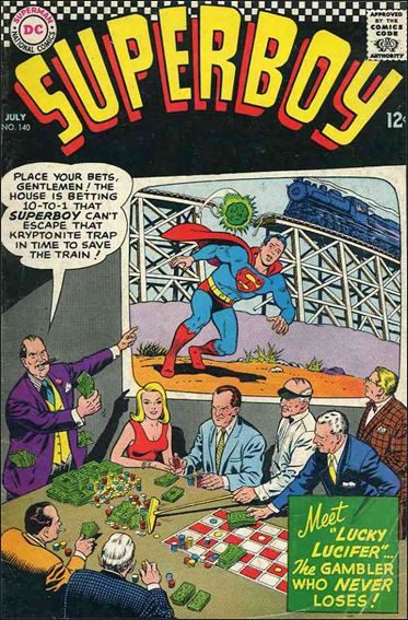Superboy (1949) 140-A by DC