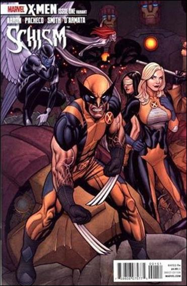 X-Men: Schism 1-B by Marvel
