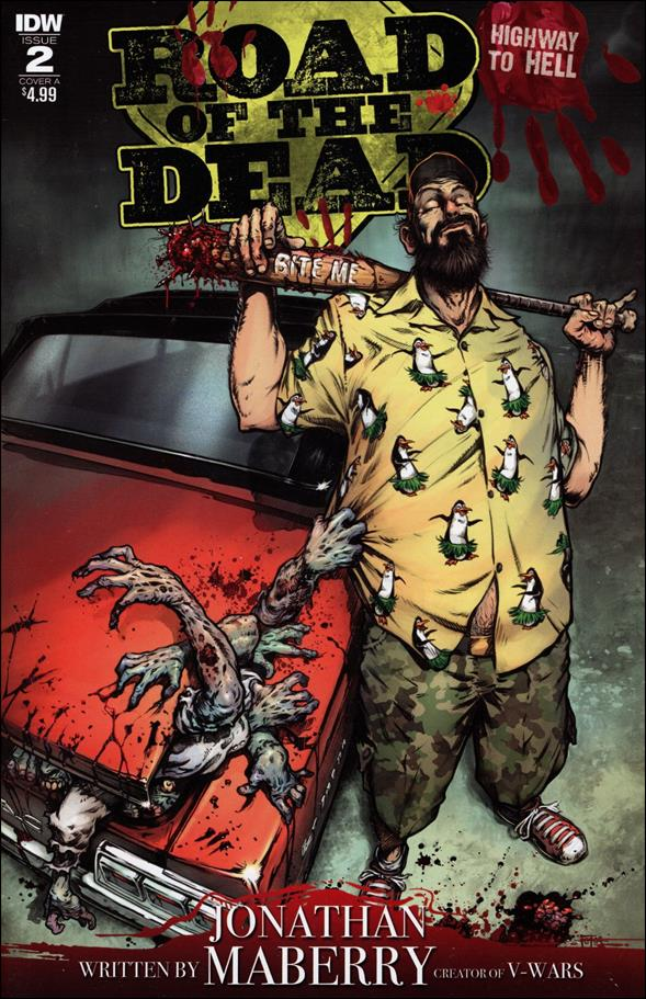 Road of the Dead: Highway to Hell 2-A by IDW