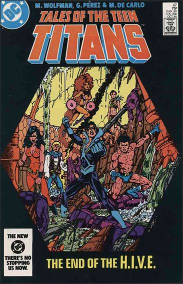 Tales of the Teen Titans 47-A by DC