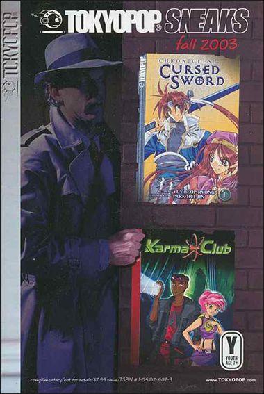 Tokyopop Sneaks 2003 2-A by Tokyopop