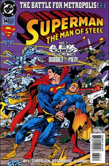 Superman: The Man of Steel 34-A by DC