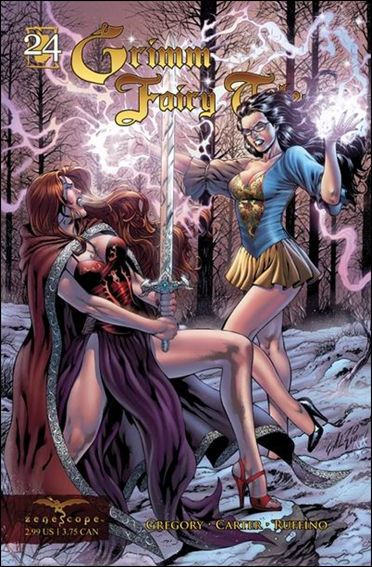 Grimm Fairy Tales (2005) 24-A by Zenescope Entertainment