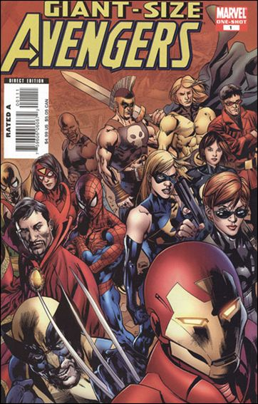 Giant-Size Avengers 2008-A by Marvel