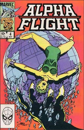 Alpha Flight (1983) 4-A