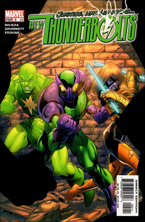 New Thunderbolts 5-A by Marvel