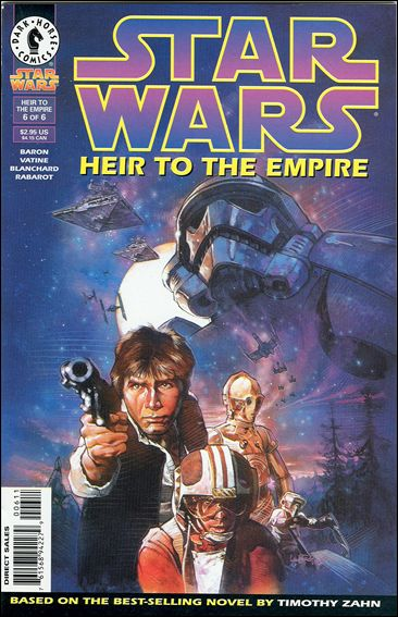 Star Wars: Heir to the Empire 6-A by Dark Horse