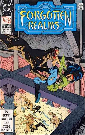 Forgotten Realms 20-A by DC