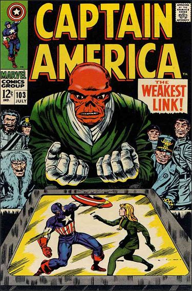 Captain America (1968) 103-A by Marvel