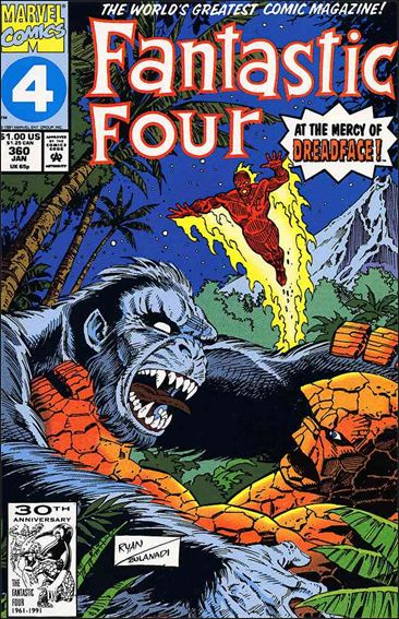 Fantastic Four (1961) 360-A by Marvel