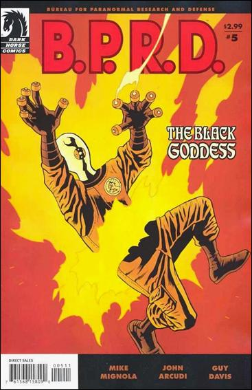 B.P.R.D.: The Black Goddess 5-A by Dark Horse