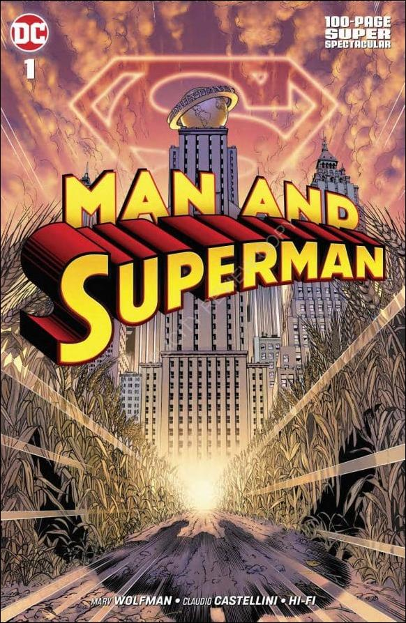 Man and Superman 100 Page Super Spectacular 1-A by DC