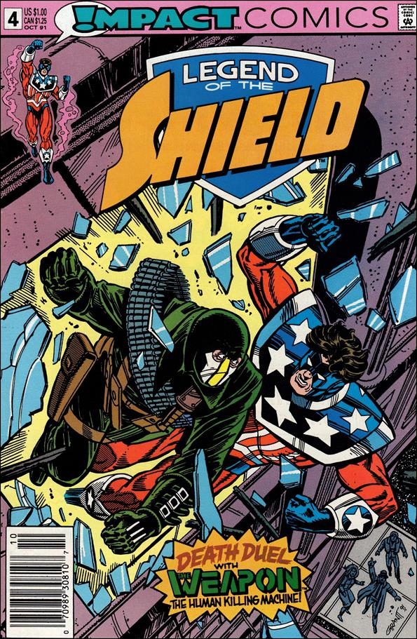 Legend of the Shield 4-A by Impact Comics