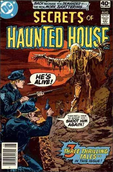 Secrets of Haunted House 15-A by DC