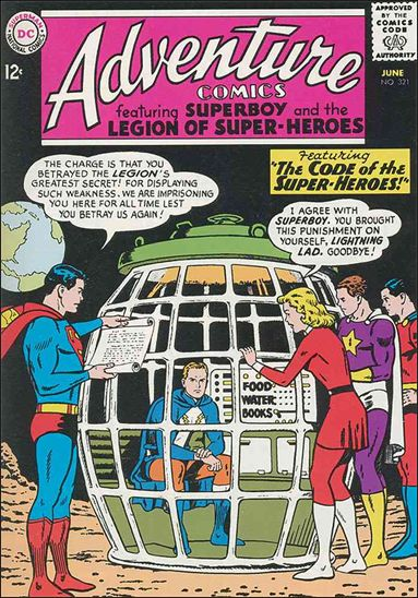 Adventure Comics (1938) 321-A by DC