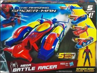 Amazing Spider-Man (Vehicles) Mega Battle Racer with Spider-Man by Hasbro