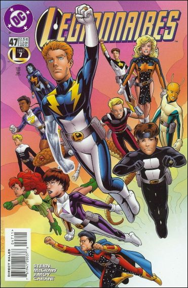 Legionnaires 47-A by DC