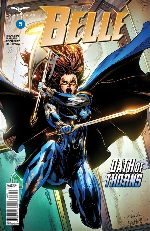 Belle: Oath of Thorns 5-A by Zenescope Entertainment
