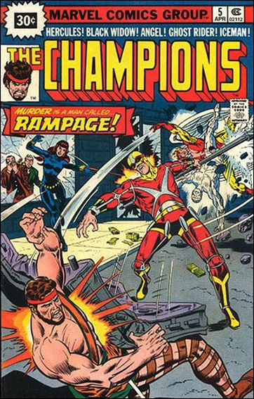 Champions (1975) 5-B by Marvel
