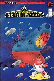 Star Blazers (1987) 2-A by Comico