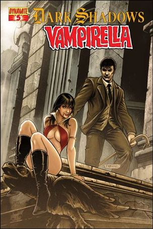 Dark Shadows / Vampirella 5-A