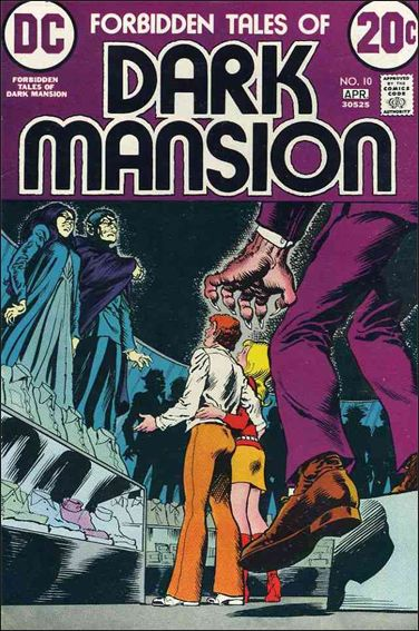 Forbidden Tales of Dark Mansion 10-A by DC