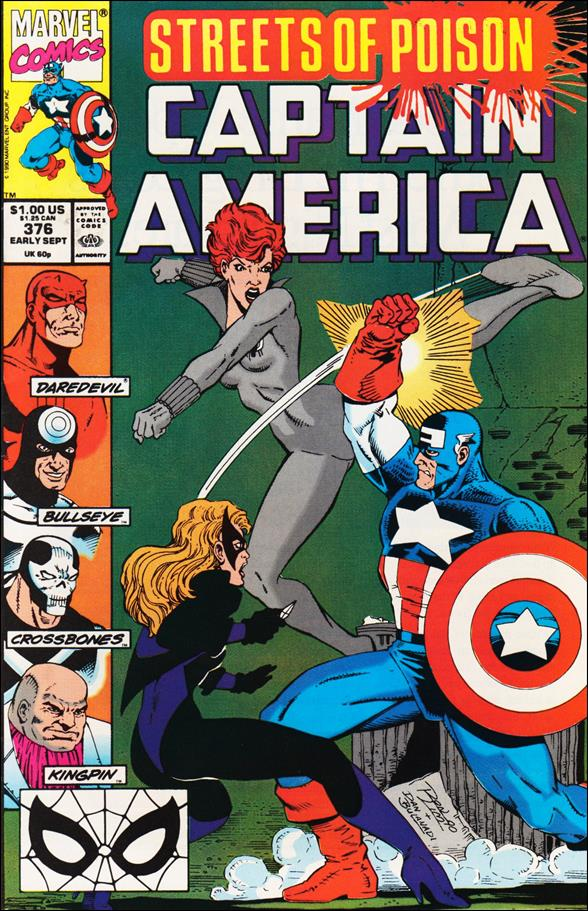 Captain America (1968) 376-A by Marvel