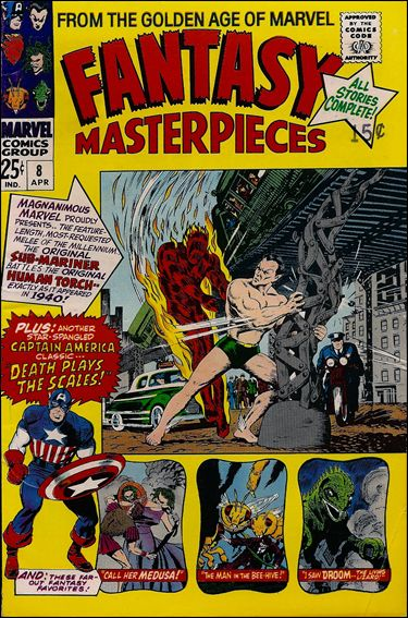 Fantasy Masterpieces (1966) 8-A by Marvel