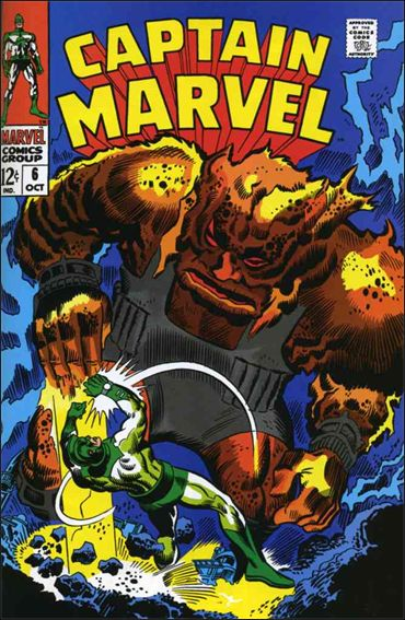 Captain Marvel (1968) 6-A by Marvel