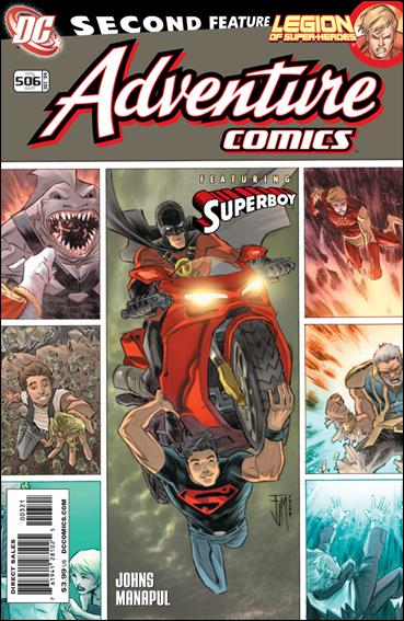 Adventure Comics (2009) '506'-B by DC
