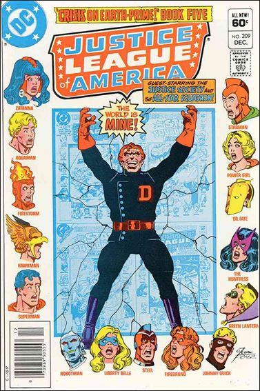 Justice League of America (1960) 209-A by DC