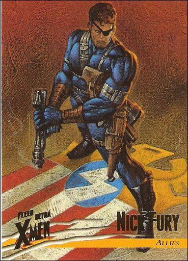 1996 Fleer Ultra X-Men: Wolverine (Base Set) 40-A by Fleer