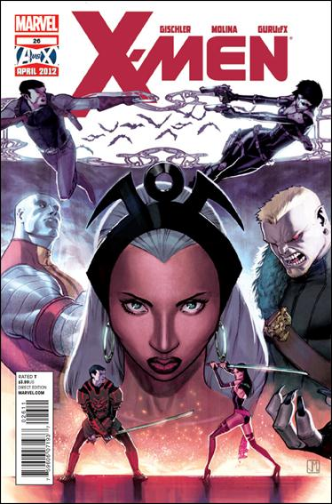 X-Men (2010) 26-A by Marvel