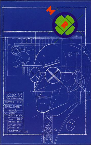 Mister X (1989) 2-A by Vortex Comics