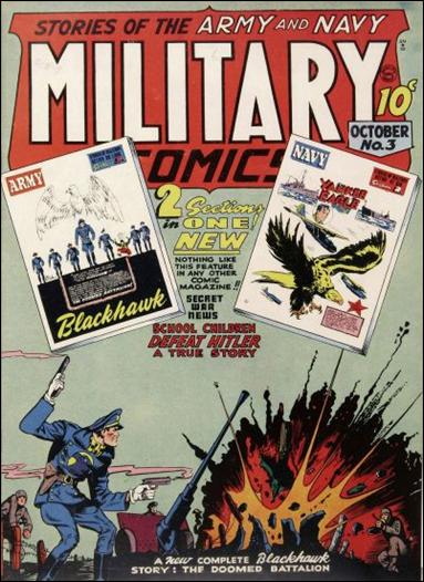 Military Comics 3-A by Comic Magazines